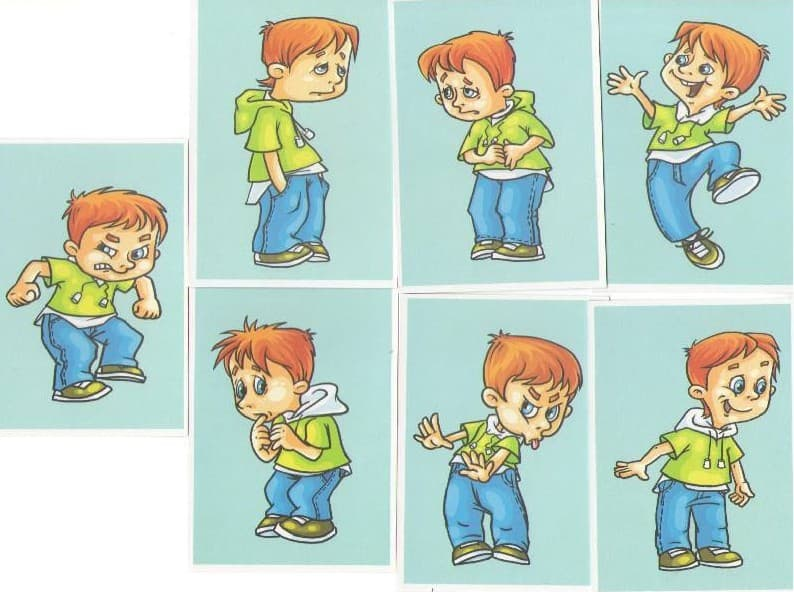 картинки эмоций для дошкольников картинки