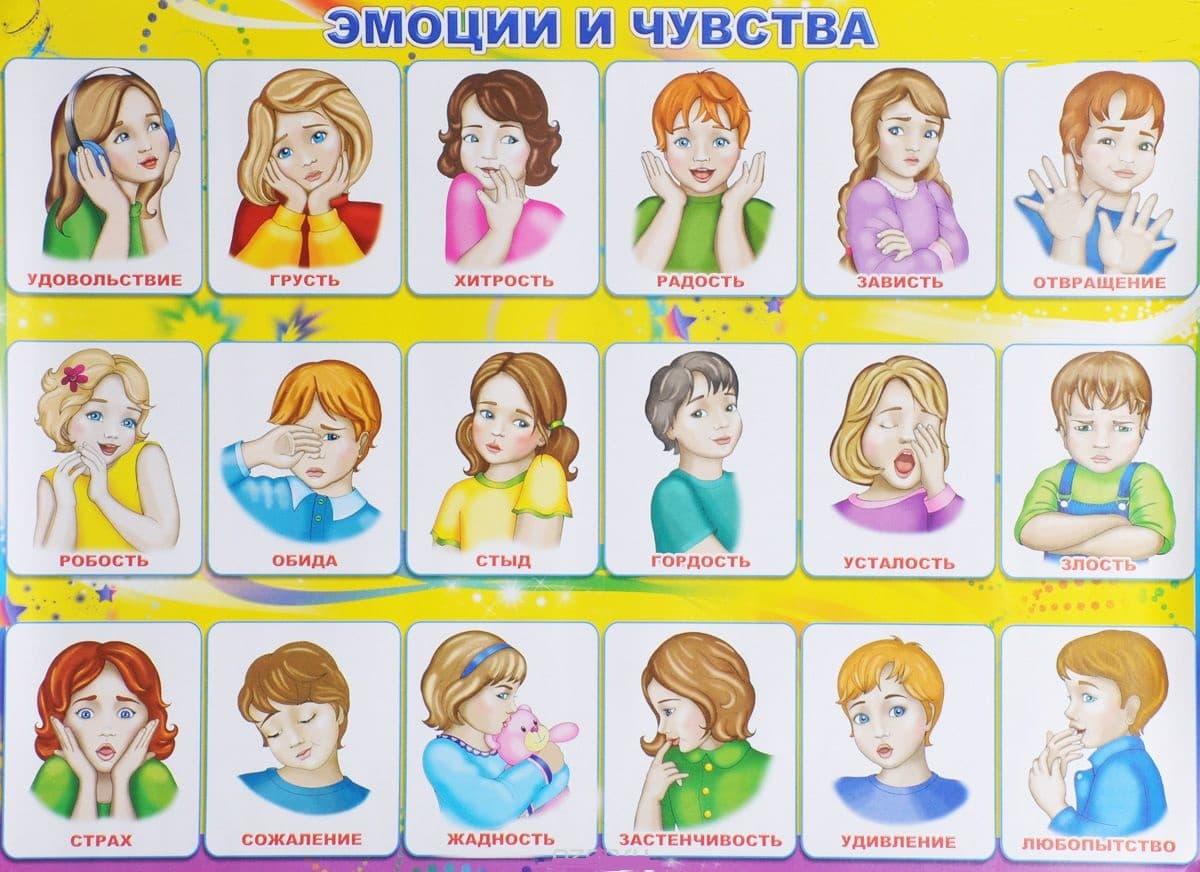 Картинки эмоциональное состояние детям
