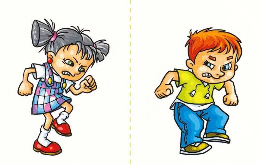 Коррекционно-развивающее занятие психолога с дошкольниками: «Злость»